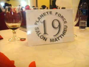 Matthew appreciated the sponsor for the tables