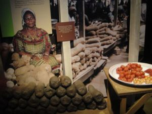 This was in Ghana, but it is so similar to DRC - cassava, tomatoes, garlic, and pili pili.