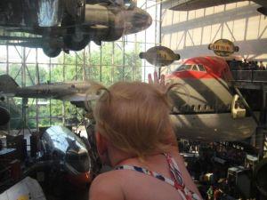 Amelia loves airplanes