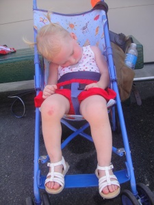 Amelia's version of doing the 4th in Boston