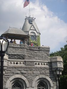 Matthew and Levi atop Belvedere's castle