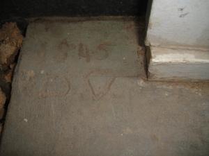 """It says """"1945 D.D."""""""