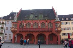 The main trade building from the Middle Ages in Freiburg