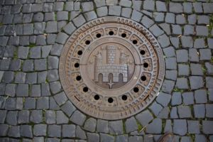 No boring man hole covers in Freiburg