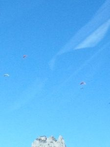 Paragliders or parachuters…or something else?