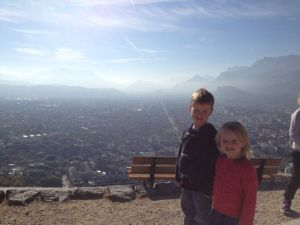 From the top of the fort at Grenoble