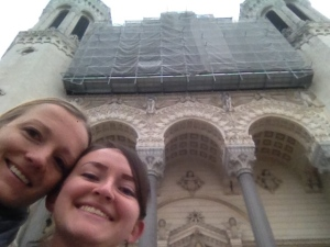Shannon and I were excited to see the cathedral