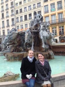 The plazas were impressive