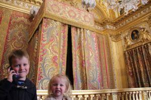 King Louis's bedchamber.