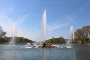 The fountains!