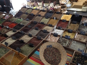 The Saturday market in Antibes was really pretty, and really pricey.