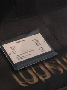 And this was its price tag - can't read it?  Oh, it's a steal at 27 000 euros!  (Around $30,000)