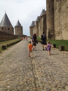 Marching around Carcassonne...