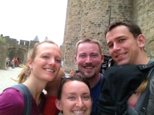 We walked all the way around Carcassonne!