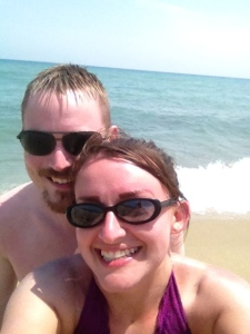 Obligatory beach selfie.